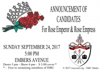Announcement of Emperor and Empress Candidates